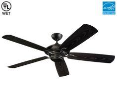 monte carlo 5cy60bk cyclone ceiling fan