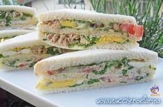 bar sandwiches simple recipe for buffet- tramezzini del bar ricetta semplice per buffet The bar sandwiches are perfect for every occasion; practical for the lunch break at the office, great to take to the beach for lunch under the umbrella - Tapas, My Favorite Food, Favorite Recipes, Italian Street Food, Sandwiches, Vol Au Vent, Finger Foods, Italian Recipes, Food Inspiration