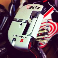 Callaway Golf gave us a great close-up of the new FlipFace putter from Odyssey.