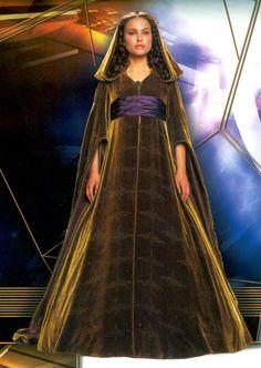 Star Wars - Episode III: Revenge of the Sith (2005) - Padmé Amidala - Delegation dress