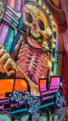Eastern Market, Detroit Graffitii                                                                                                                                                                                 More
