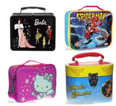 I love collecting lunch boxes!