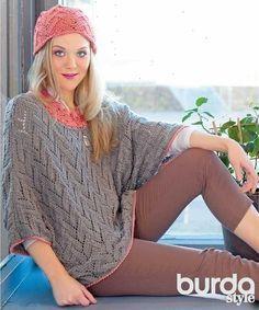 Пуловер «летучая мышь» - схема вязания спицами. Вяжем Пуловеры на Verena.ru
