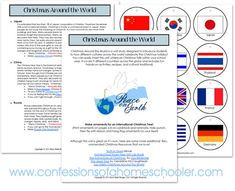 Christmas Around the World Unit Study - Confessions of a Homeschooler