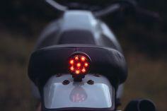 YAMAHA XT500Z  WECREATE.MOTORS Custom Motorcycles, Custom Bikes, Yamaha, Motors, Custom Bobber, Motorbikes