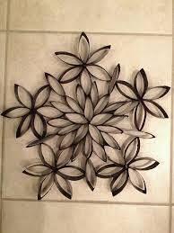 Resultado de imagen para toilet paper roll snowflake