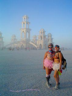 more KHENRI at Burning Man!!