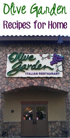 101 Olive Garden Recipes to try at home!