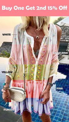 46 Ideas For Patchwork Clothes Boho Chic Ideas Summer Dress Outfits, Summer Dresses For Women, Boho Outfits, Fashion Outfits, Women's Summer Clothes, Dress Fashion, Short Beach Dresses, Sexy Dresses, Casual Dresses