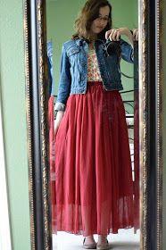 Bramblewood Fashion ❘ Modest Fashion Blog: Sunday Style -- Forever 21 Floral Tank Styled 2 Ways