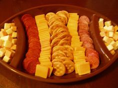 Super Bowl food Very Simple! I like! - just an idea set up, no recipes - flickr- Coach Boyer