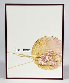 Beautiful Noise Stamps by Club Scrap #clubscrap #stamping #stampedcards #handmadecards Room Diffuser, Music Images, Lucky Girl, Brown Canvas, Pigment Ink, Card Kit, Beautiful Artwork, Watercolor Paper