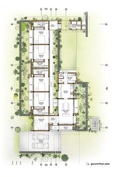 17 Wall Ground Floor Design Wall Ground Floor Design - Elegant Private Residence RGR House by archiNOW 50 Degrees North Architects ground floor rear extension in Floor Plan Groun. Best House Plans, Modern House Plans, Small House Plans, Modern House Design, House Floor Plans, Architecture Design, Modern Architecture House, Architectural Floor Plans, Ground Floor Plan