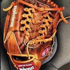 First Nokona glove Ive ever used. I like what Im dealin with! Nokona