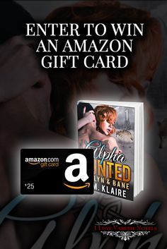 Win a one of TWO $25 Amazon Gift Cards from USA Today Bestselling Author JM Klaire  Ends: 11.08.2016