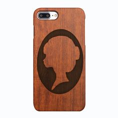 #fashion woman phone case# #iphone 7 and 7plus#.100%natural wood phone case