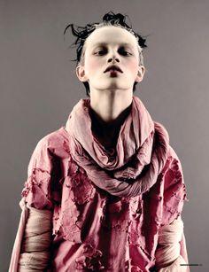 Ranya Mordanova by Ben Toms  / Dazed & Confused February, 2010