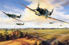 The Finest Hour, by Nicolas Trudgian (Spitfire Mk I)