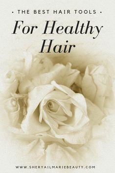 The Best Hair Tools For Healthy Hair Popular Hairstyles, Diy Hairstyles, Diy Hair Care, Skin Care Tools, Setting Powder, Hair Tools, Blog Tips, Hair Hacks, Healthy Hair