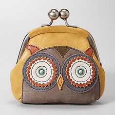 Love the owl theme. Fossil.