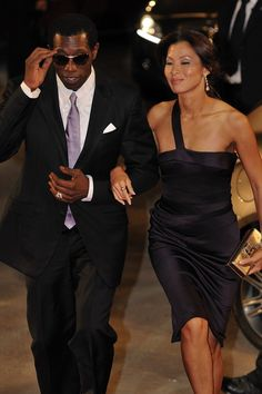 Wesley Snipes and wife Nikki Park