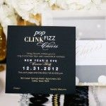 Invite for Sparkly New Year's Eve Party | theglitterguide.com