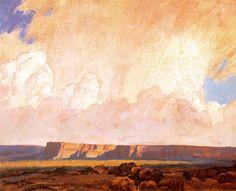 Dixon (1875-1946), Maynard - Receding Ranistorm