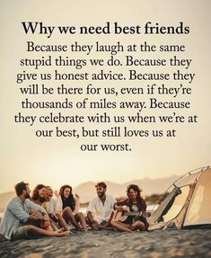 Need Friends, Friends Day, Friends Forever, We Need, True Words, Life Is Beautiful, Quotes To Live By, Bff, Friendship