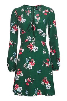 **Nelly Floral Tie Front Dress by Nobody's Child - New In- Topshop Europe