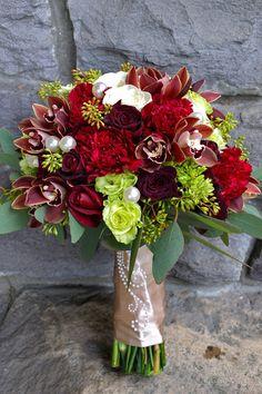 Bouquets de noiva de Natal