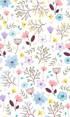 Beautiful floral pattern, perfect for girly wrapping paper or even a girl's bedroom wallpaper! Ipad Wallpaper Quotes, Cute Wallpaper Backgrounds, Flower Backgrounds, Pretty Wallpapers, Screen Wallpaper, Flower Wallpaper, Mobile Wallpaper, Pattern Wallpaper, Iphone Wallpaper