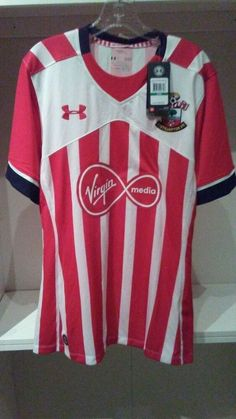 81b786344 Under Armour Southampton FC EPL Soccer Jersey Mens Size Large NWT  90.00   Underarmour  Southampton