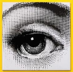 "design-is-fine: "" Piero Fornasetti, eye motive, from a range of 12 tiles, re-edition by Ceramica Bardelli, Italy. Gravure Illustration, Eye Illustration, Tattoo Studio, Decoration Vitrine, Giovanni Boldini, Piero Fornasetti, Scratchboard, Art Graphique, Eye Art"