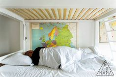 Cool eco hotel in Amsterdam - Ecomama See World, Hostel, Amsterdam, Dreaming Of You, Globes, Cool Stuff, Luxury, Bedroom, Wallpaper
