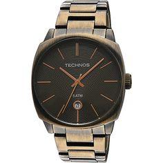 e67a9e6f118  Americanas  Relógio Feminino Technos Analógico Fashion 2115rl 1m - R 89