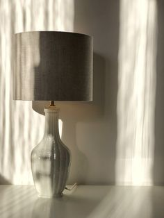 "Gunnar Nylund Sculpural Formed ""Chamotte"" Table Lamp by Rörstrand - Studio Laurin Modern Table, Mid-century Modern, Modern Ceramics, Scandinavian Modern, Table Lamps, Mid Century, Studio, Home Decor, Lamp Table"