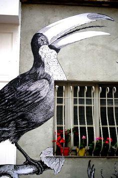 Treize bis - Street art -  paris 20, rue etienne dolet (juin 2013)