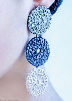 lovely crochet earrings: www.bijouxdejane.com