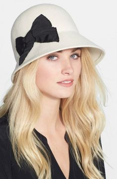 Kate Spade New York Wool Felt Cloche | Millinery, Hat and Accessory