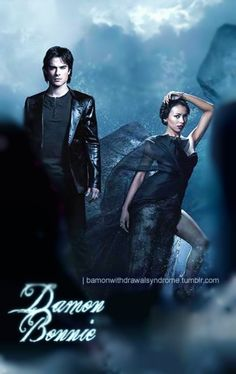 Bamon Withdrawal Syndrome - damon-and-bonnie Fan Art Damon And Bonnie, Bonnie Bennett, Mystic Falls, Vampire Dairies, Damon Salvatore, Vampire Diaries The Originals, Ian Somerhalder, Spin, Fan Art
