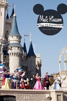 Walt Disney World Family Vacation: Top 10 favorites at the Magic Kingdom, with links to other Disney parks favorites//KristenDuke.com