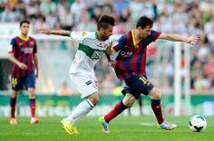 Lionel Messi of FC