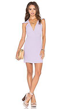 x Naven Twins Flutter Sleeve Romance Bodycon Dress $96
