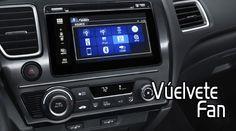 #Honda #CivicCoupe  Control automático de velocidad de crucero y controles de audio en el volante, e interfaz HandsFreeLink® para teléfonos móviles con tecnología Bluetooth®.  Sistema de audio con seis bocinas, pantalla inteligente Multi-Información (i-MID), LCD a color de 5 pulgadas que muestra las funciones de audio, computadora de viaje y fondo de pantalla. Reproducción de audio vía Bluetooth®, interfaz de audio USB compatible con iPod® y otros dispositivos de almacenamiento.