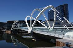 Seafarers Bridge  Yarra River, Melbourne, Australia