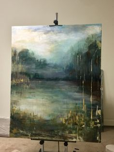 Modern Contemporary Low Country Marsh Abstract Landscape Water Reflections by christina dowdy Acrylic/oil ~ 36 x 36 Landscape Art, Landscape Paintings, Art Paintings, Painting Art, Landscape Rocks, Abstract Landscape Painting, Abstract Paintings, Acrylic Art, Diy Abstract Art