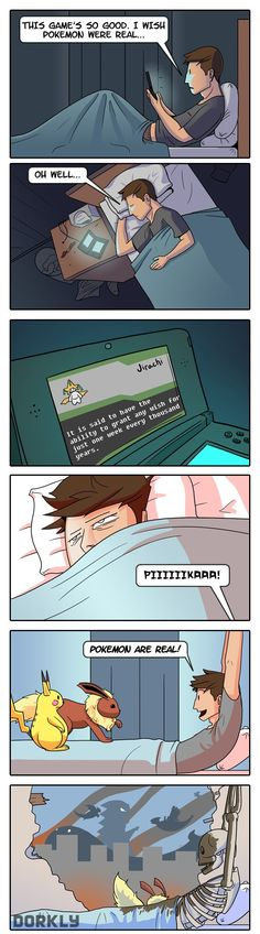 Dreams Do Come True #Pokemon #Dorkly