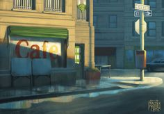 Concept Art Ilustrations - Various by Nacho Malter, via Behance
