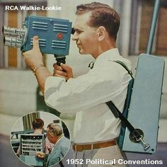 The RCA Walkie-Lookie.  In COLOR...