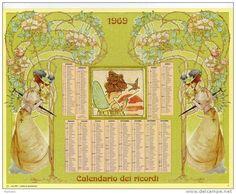 Calendario dei ricordi anno 1969